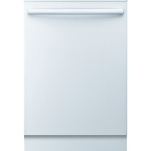 "SHX3AR72UC Ascenta 24″"" Wide Fully Integrated Built-In Dishwasher with 6 Wash Cycles Quiet 50 dBA 14 Place Settings Delay Start 24/7 Overflow Leak Protection 50 dBA Silence Rating in White"