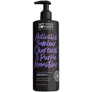 Not Your Mother's, Activated Bamboo Charcoal & Purple Moonstone Shampoo, 16 Fl Oz