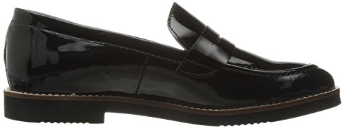 Andre Assous Womens Jessi Penny Loafer Black
