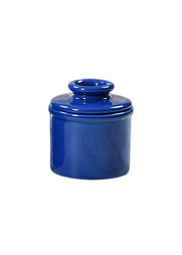 - Butter Bell JB-BLU The Original Crock by L. Tremain, Petit Collection-Holds 2.5 tablespoons of Butter, Blue, 3x3x2.5,