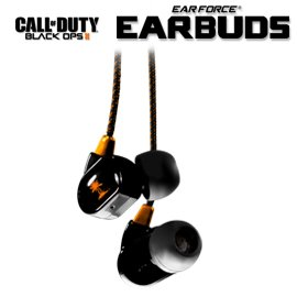 Turtle Beach Call of Duty: Black Ops II Elite Mobile Gaming Earbuds with In-Line - Games Ds Duty Call