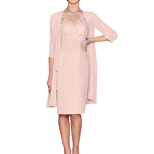 Party Pink Pageant Vipgowns De Élégant Midi Vintage Soirée Nude Femme Robe Cocktail OPFP0z