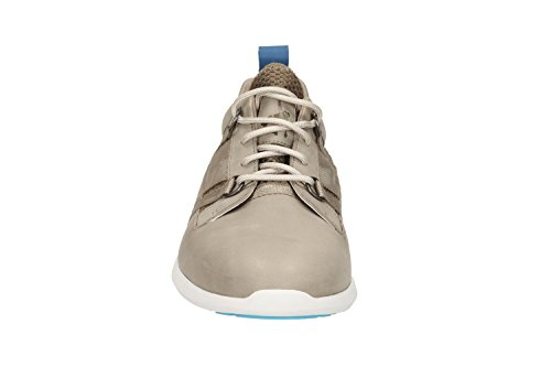 Clarks Homme Loisirs jambi Lo Chaussures basses en cuir beige