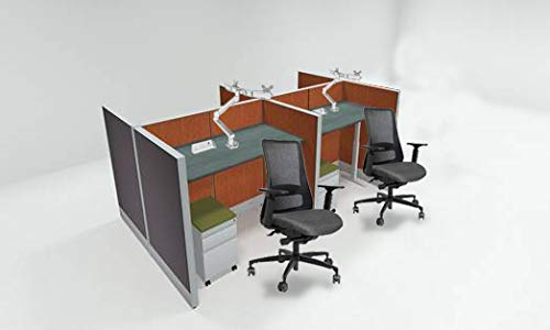 4 Pack-Call Center Modular Cubicle ()