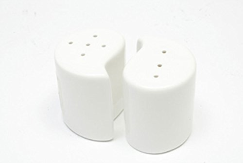 Maxwell & Williams White Basics Yin & Yang Salt and Pepper Set by Maxwell Williams (Maxwell Salt)