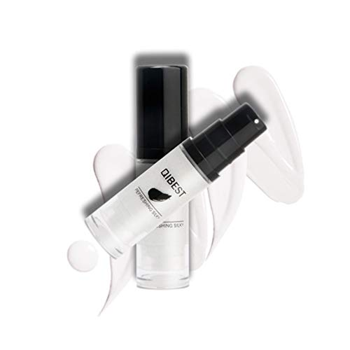 White Concealer Foundation,QIBEST Flawless Color Changing Foundation Cruelty-Free Makeup Base Face Liquid Cover Concealer, Blemishes & Skin Discoloration for a Flawless (Skin Discoloration) (Best Brand For Foundation And Concealer)