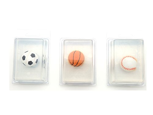 Sports Balls Children's Soap Unscented - Set of 3 by Sunflower Hill