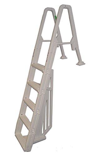Evolution Inpool 5-step Ladder with Barrier by Confer Plastics