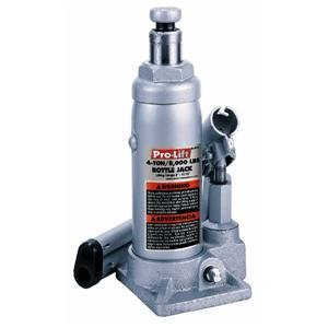 Pro Lift Bottle Jack Hydraulic 8'' - 15 - 3/8'' 4 Ton Silver/Red Display Box by Pro-Lift (Image #1)