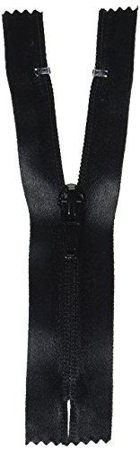Coats: Thread & Zippers Water-Resistant Closed Bottom Zipper, 5-Inch, Black