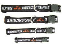 "Orange County Choppers Nylon Pet Collar - 15""-21"""