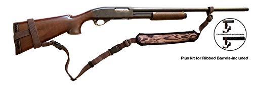Ez GunsSling (R) Pro Universal Non-Swivel Gunsling for Rifles,Shotguns,or Favorite Firearm (Woodgrain Brown)