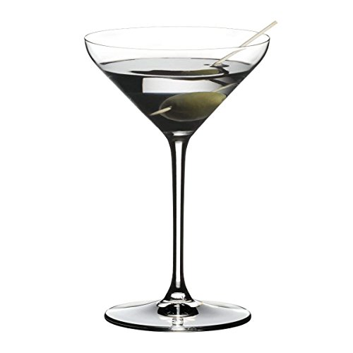 Riedel Extreme Crystal Martini Cocktail Glass, Set of 2 by Riedel