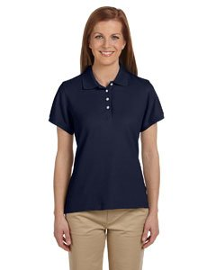 (Chestnut Hill Women's Short Sleeve Performance Plus Pique Polo Shirt CH100W blue X-Large)