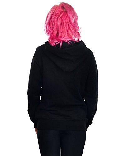 sweat-shirt avec capuche pour femmes - DRIPPY 666 & PENTAGRAM - TOO FAST - WHHD-