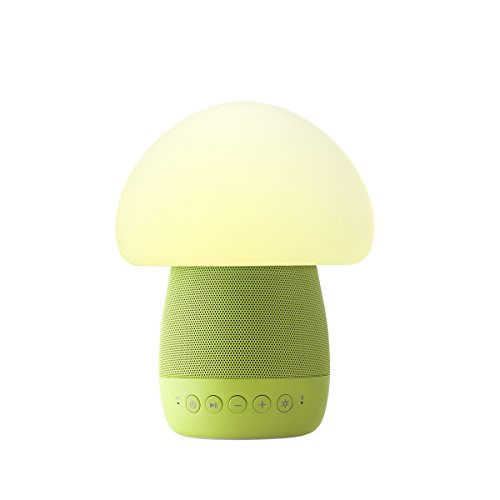 Emoi Mushroom Bluetooth Speaker Emotional Night Light, Baby Light
