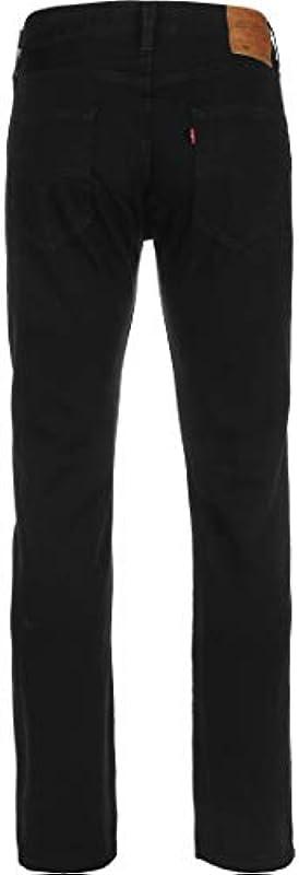 Levi's 501 oryginalne dżinsy, kolor: czarny , rozmiar: 33W / 32L: Odzież
