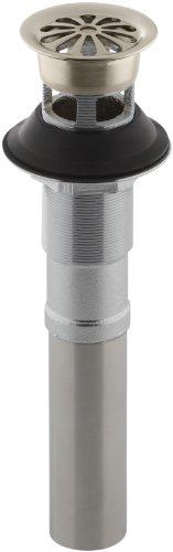 (KOHLER K-7129-A-BV Lavatory Grid Drain with Overflow, Vibrant Brushed Bronze)