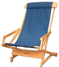 Blue Ridge Sling Recliner, Navy