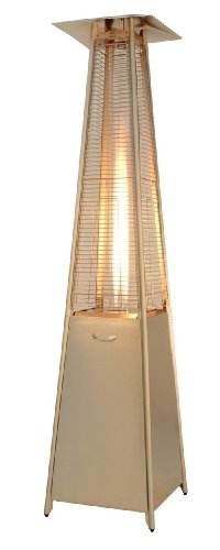 Resort Model Pyramid Heater Glass Tube Outdoor Patio Heater