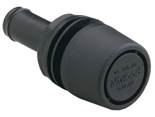 Attwood Corporation 1607-3 Black Straight Fuel Tank Vent