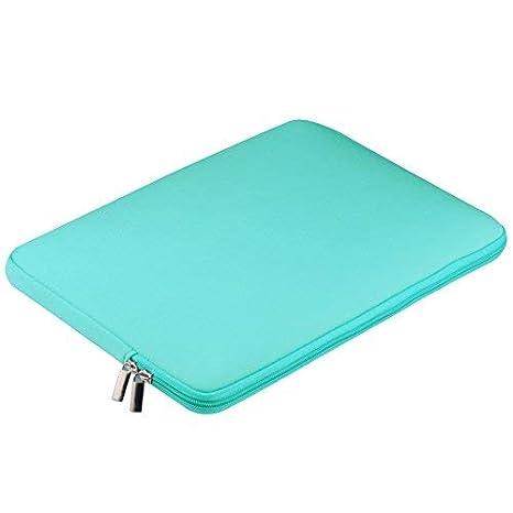 POUYBIE 12 Pulgadas Tableta para computadora port/átil Funda para computadora port/átil Malet/ín de bolsillo prueba de golpes para MacBook Air//Pro