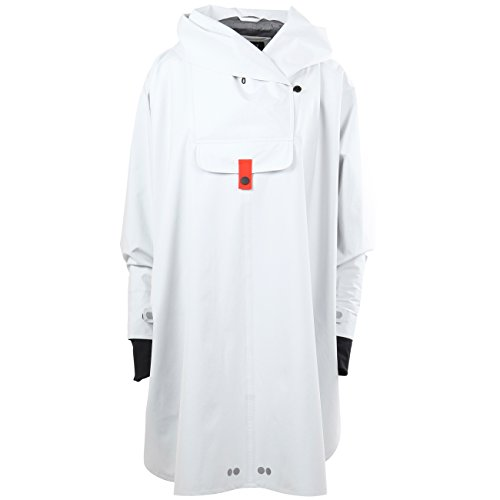 Bergen Poncho Woman Raincoat White Blaest White 0BqvRz