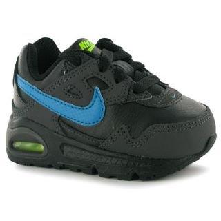 Nike AIR MAX SKYLINE TD Baby Sportschuhe Schuhe Kinder schwarz/blau ...