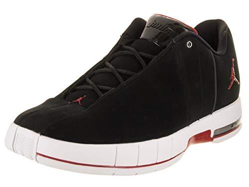 Jordan Mens Air TE 2 Low Basketball Shoe (Black/Gym Red-White, 11 M US)