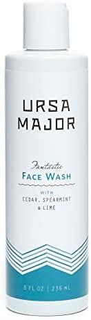 Ursa Major Fantastic Face Wash | Natural, Vegan & Cruelty Free | 8 ounces