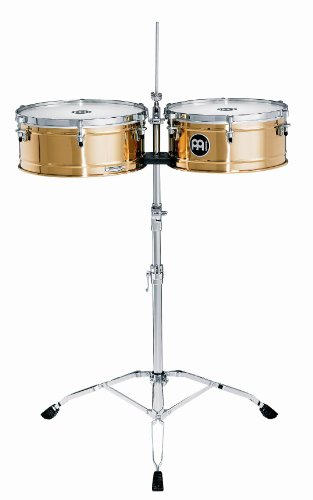 Meinl Percussion BT1415 Professional Bronze Timbales, 14-Inch and 15-Inch by Meinl Percussion