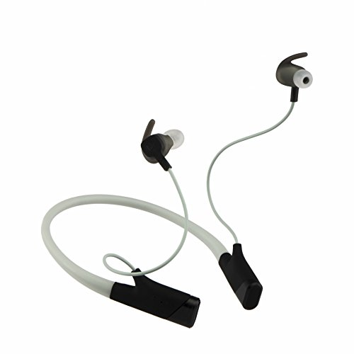 BEEM UNITED BeActiv S100-EB Wireless Earbuds Bluetooth Headphones with Heart Rate Monitor (Electric Black)