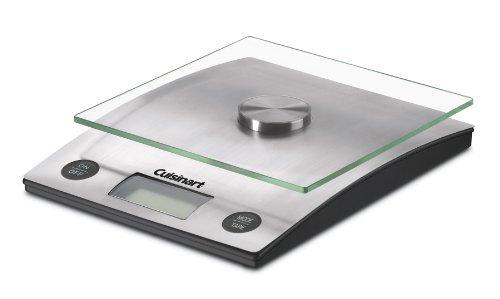 Cuisinart - Perfectweight Digital Kitchen Scale - Silver