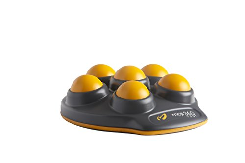 Moji Foot, Compact and Travel Friendly Foot Massager, Relief for Plantar Fasciitis, Perfect for Home and Office, Used by Athletes Everywhere
