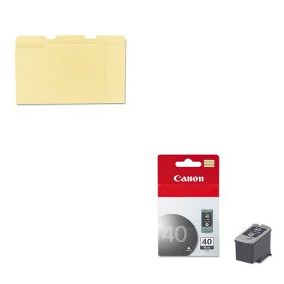 KITCNMPG40UNV12113 - Value Kit - Canon PG40 PG-40 Ink Tank (CNMPG40) and Universal File Folders ()