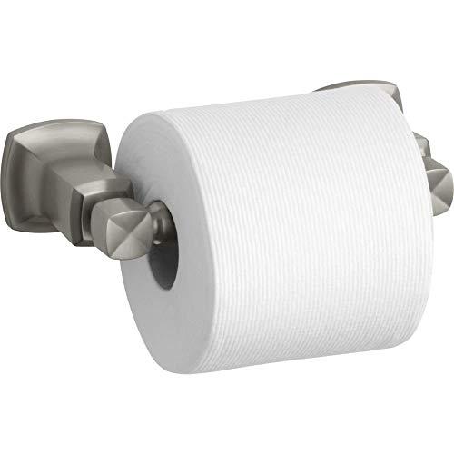 Kohler K-16265-BN Margaux Horizontal Toilet Tissue Holder, Vibrant Brushed Nickel by Kohler (Image #2)