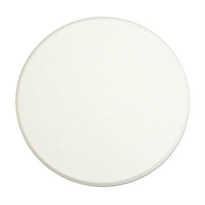Pack of 5 Door Knob Self Adhesive 5'' Protector Drywall Wall Shield Round White