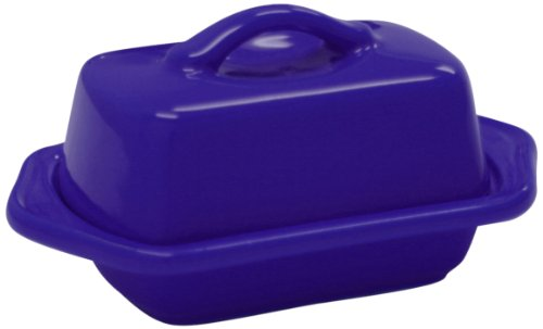 Chantal 93-TVBD2-1 BI Mini Butter Dish, Indigo Blue ()
