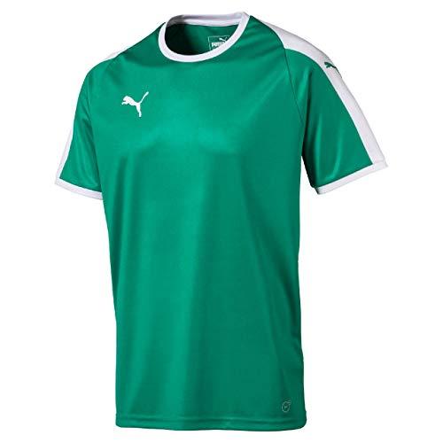 Puma Verde T pepper Green White shirt Jersey Liga Uomo rqSZrP