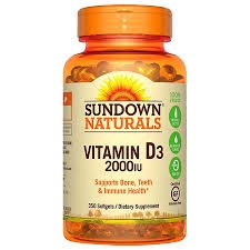 Sundown, Vitamin D-2000 Iu Softgels, 150 ct