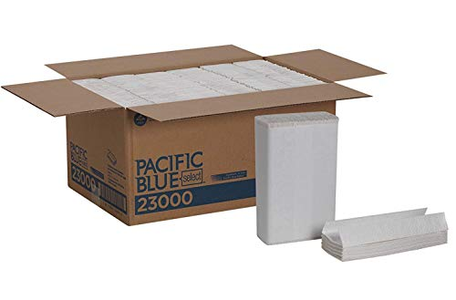 Pacific Blue Select Premium 2-Ply C-Fold Paper Towels White, 23000, 120 Towels Per Pack, 12 Packs Per Case Limited Edition