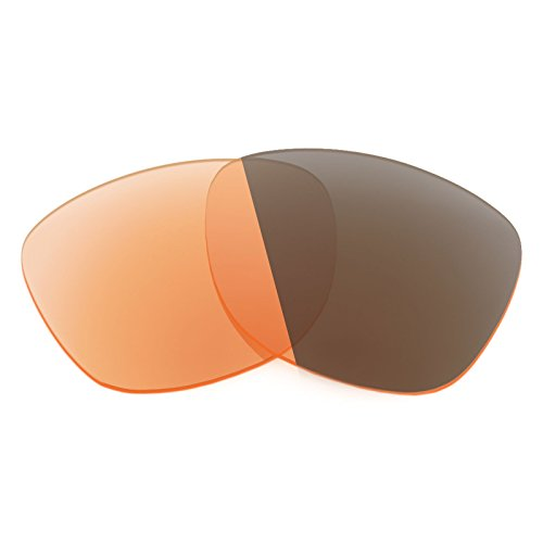 Verres de rechange pour Spy Optic Oasis — Plusieurs options Elite Adapt Orange photochromique