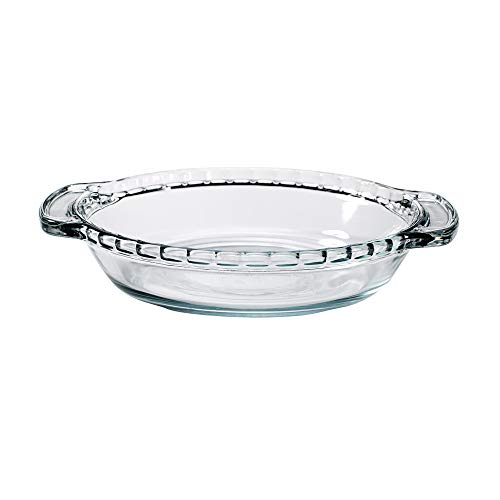 Anchor Hocking 79033 Mini Pie Plate Oven Basics, Glass, 6-Inch