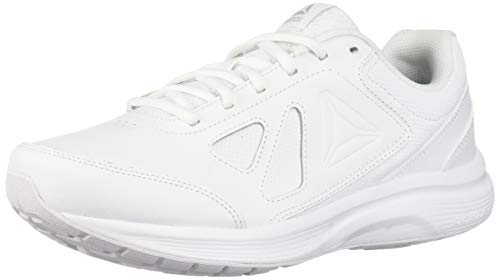(Reebok Men's Walk Ultra 6 Dmx Max Sneaker, White/Steel , 10 M US )