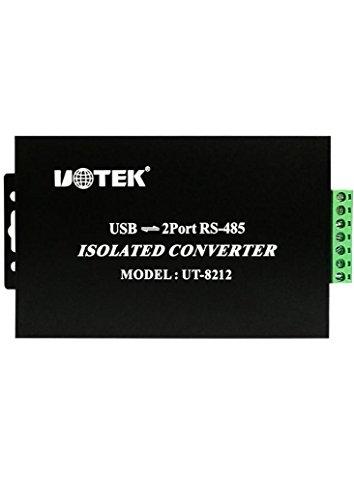 UTEK UT-8212 USB to 2 ports RS-485 Isolated Converter