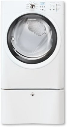 Electrolux EIED50LIWIQ-Touch 8.0 Cu. Ft. White Stackable Electric Dryer by Electrolux (Image #1)