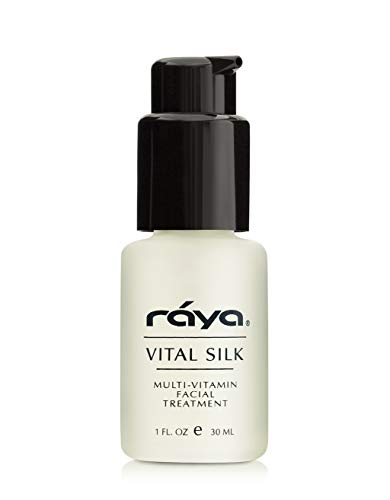 RAYA Vital Silk Serum (509) | Multi-Vitamin Facial Treatment for All Non-Sensitive Skin Beginning to Age | Softens and Smooths Complexion | Protects From Environmental Damage ()