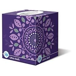 Puffs Ultra Soft 2-Ply Facial Tissue, 56 Tissues Per Box, Case of 24