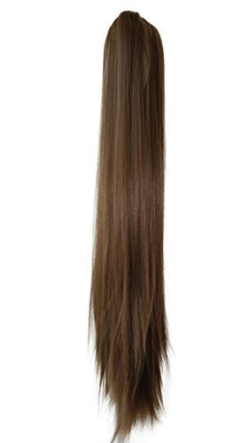 PRETTYSHOP Hairpiece Ponytail Clip on Extension Long hair smooth Heat-Resisting 27