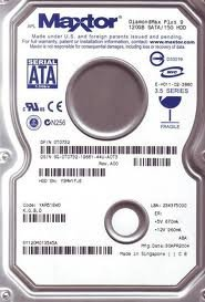 MAXTOR DiamondMax-0T0732 DiamondMax Plus 9, 120gb SATA/ 150 HDD, YAR51EW0, 234375000 (Diamondmax 20 Hard Drive)